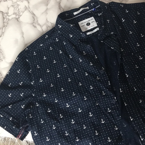 Cactus Other - Men's Anchor Button Up